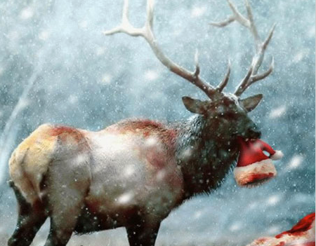 Babbo Natale è morto. Maledette renne cernivore. | Santa is dead. Damn carnivorous reindeers.