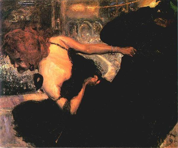 """Max Slevogt, """"Totentanz"""", 1896, Museum Georg Schäfer, Schweinfurt"""