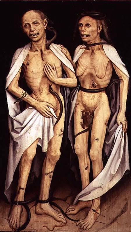 "Matthias Grünewald, ""Dead Lovers"", 1470 ca."