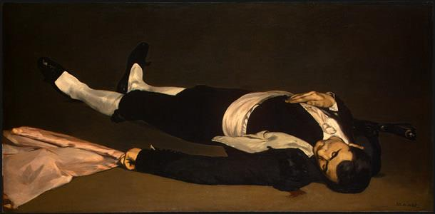 "Édouard Manet, ""The Dead Toreador"", 1868, Washington National Gallery of Art, Josef Widener Collection"