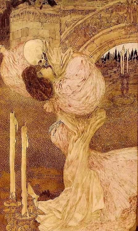 "Gustav-Adolf Mossa, ""Valse Macabre"", 1906"