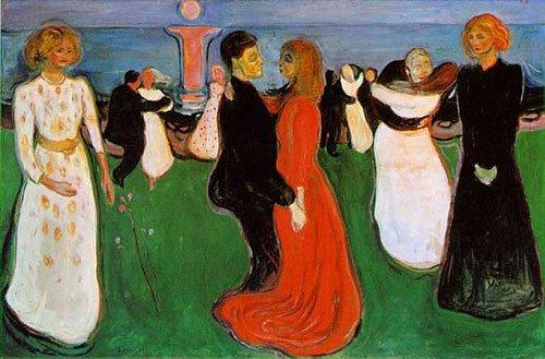 """Edvard Munch, """"La danza della vita"""", 1900"""