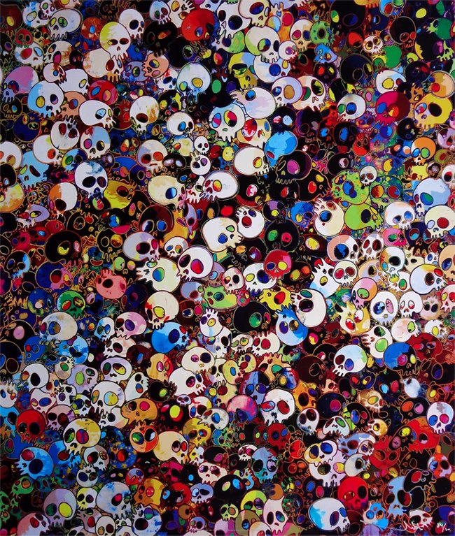 "Takashi Murakami, ""There Are Little People Inside Me"", 2010"