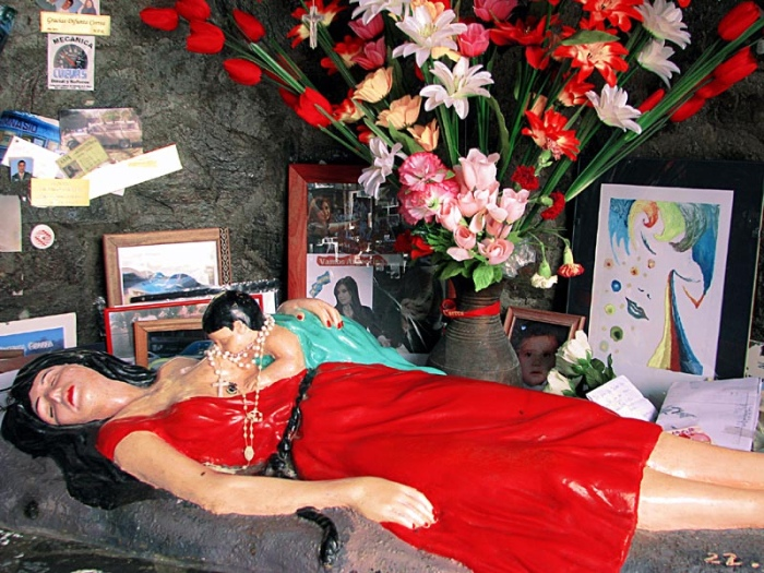 Una cappella votiva per la Difunta Correa – Ph. Adriana Lob su Flickr