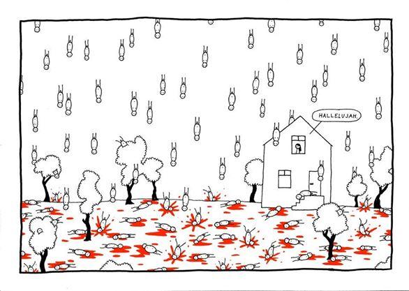 """10 • Prendere troppo alla lettera i testi delle canzoni… """"It's raining men""""..."""