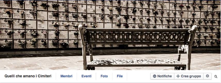 Cimiteri su facebook (1/6)