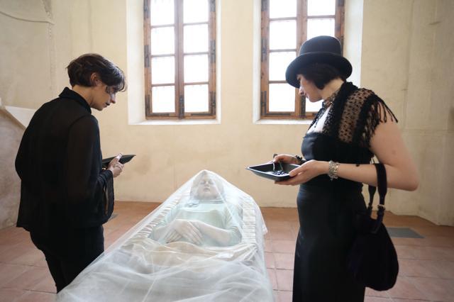 Le dame e Marilyna, ph. Alberto Cucchietti