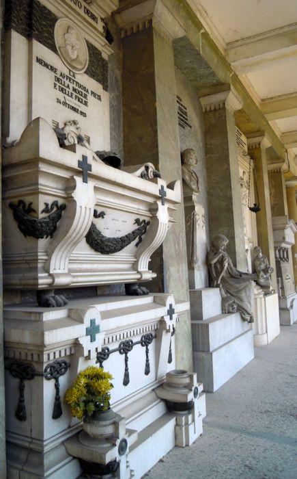 Cimitero di San Cataldo, Modena – I grandi porticati.