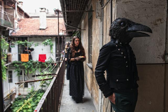 Guidate dal corvo – Ph. Alessandro Albert