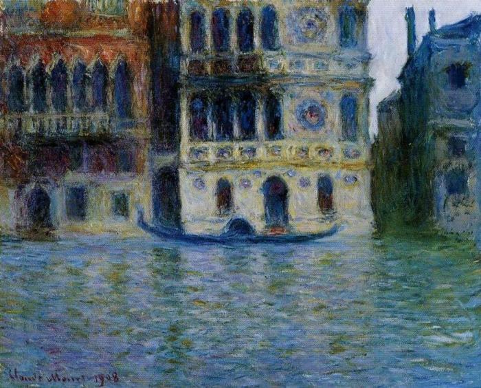 """Claude Monet, """"Ca' Dario"""", 1908"""