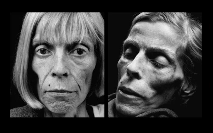 Barbara Gröne, 11 novembre 2003 e 22 novembre 2003. Ph. W. Schels