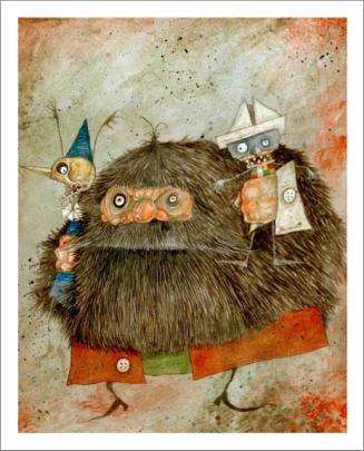 Pinocchio-Bessoni-Mangiafoco