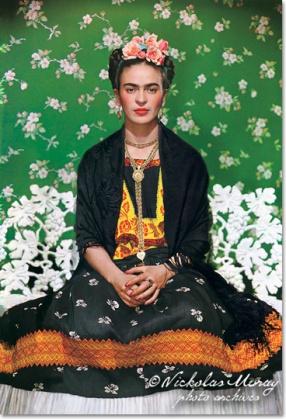 Frida sulla panchina bianca, New York, 1939