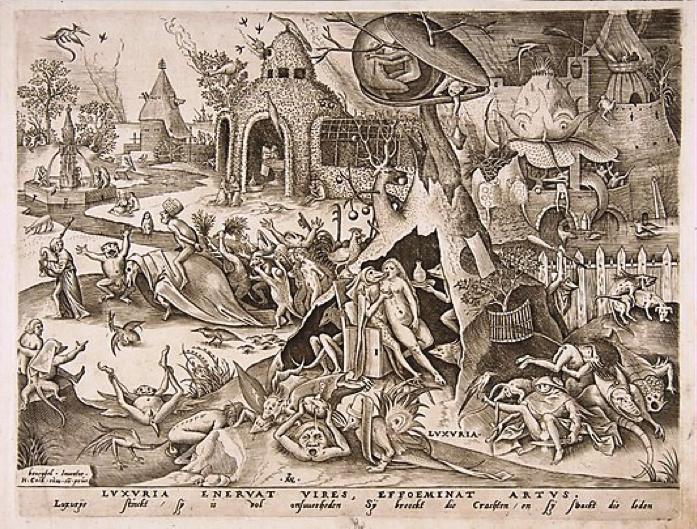 Pieter Van der Heyden, Luxuria Enervat Vires, Effoeminat Artus