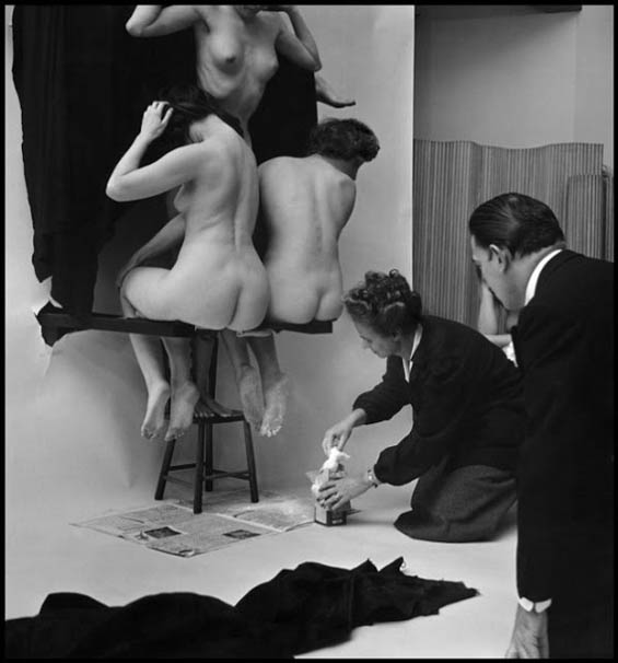 In Voluptas Mors, di Salvador Dalí e Philippe Halsman.