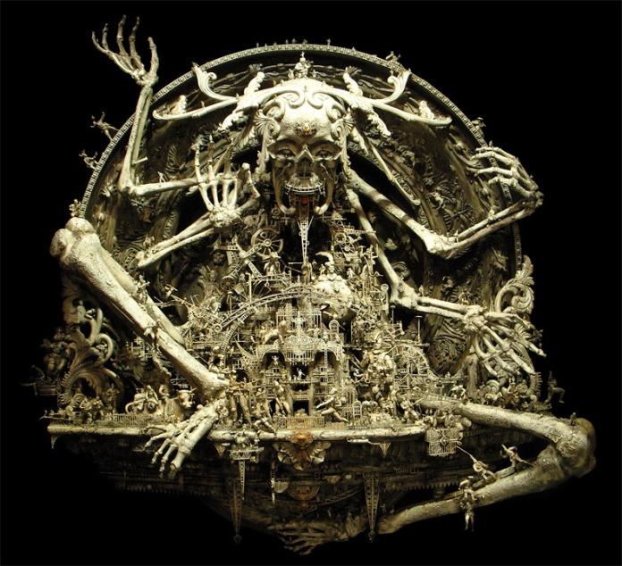 "Kris Kuksi, ""A New Divinity"", 2007"