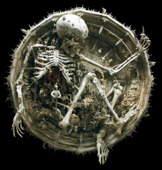 "Kris Kuksi, ""Antics and Mechanical Frolic"", 2008"