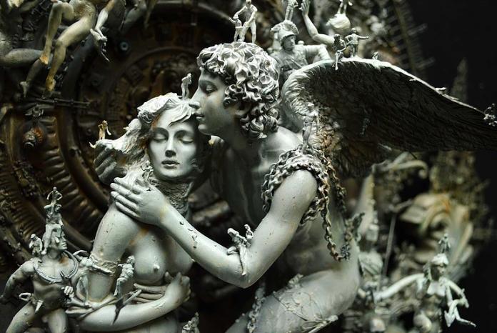 """Kris Kuksi, """"Sedation"""", 2015, particolare"""